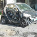 Auto in fiamme a Crotone, in corso indagini