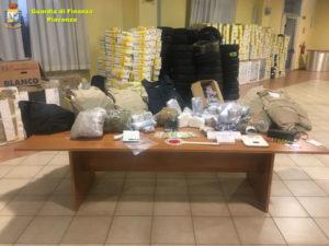 Arrestato a Piacenza latitante albanese, sequestrati 12 kg droga