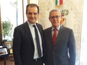 Provincia Catanzaro: Bruno incontra commissario Camera commercio