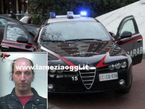 Crininalita': 47enne arrestato per tentata  rapina e resistenza p.u.
