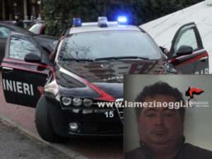 Sicurezza: 48enne arrestato per sconto pena dai Cc a Polistena