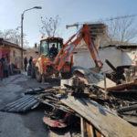 Comune Cosenza: demolizione e bonifica campo rom via R.Calabria