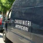 Ordigno esplosivo trovato e fatto brillare nel Vibonese, indagini