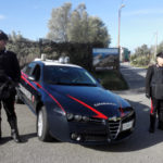 Carabinieri trovano fucile e munizioni in campagna a Cimina'
