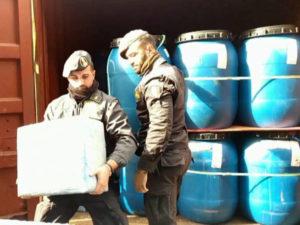 Droga: Gdf sequestra nel porto di Gioia Tauro 390 kg di cocaina