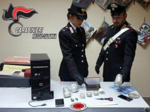Droga: due giovani coniugi reggini arrestati dai Cc a Reggio