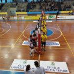 Pallavolo: Raffaele Lamezia cede al tie-break con l'Asem Bari