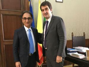 Catanzaro: sindaco Abramo ha incontrato eurodeputato Fitto