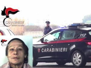 Droga: donna 58enne arrestata dai Carabinieri a Reggio