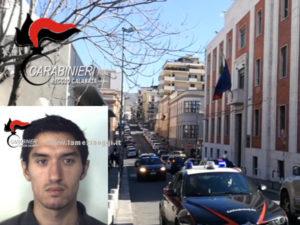Furto in abitazione a Reggio, giovane arrestato dai Carabinieri