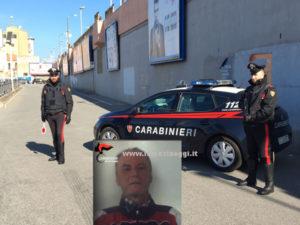 Sicurezza: 64enne arrestato per evasione dai Carabinieri