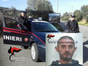 Sicurezza: 44enne arrestato per evasione dai Carabinieri nel reggino