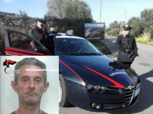 Violenza privata: 44enne arrestato per sconto pena dai Carabinieri