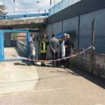 Cabina elettrica in fiamme all'ospedale di Cosenza