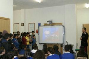 Caccuri: Carabinieri nelle scuole per diffondere cultura legalità