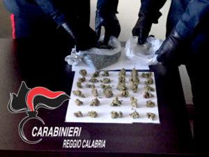 Droga: ennesimo blitz dei Cc nelle piazze di spaccio a Reggio