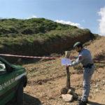 Ambiente: area soggetta a sbancamento sequestrata nel Cosentino
