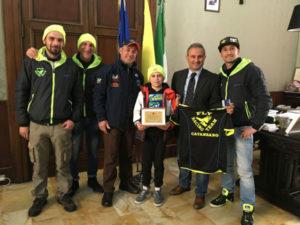Catanzaro: Mungo premia campioncino catanzarese Marco Paonessa