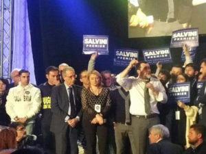 Delegazione di Noi con Salvini Calabria era presente a Napoli