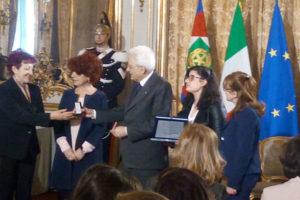 8 marzo: studentessa di Spezzano Albanese premiata da Mattarella