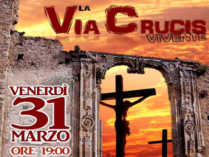 Oggi Via Crucis vivente per le strade di Simeri