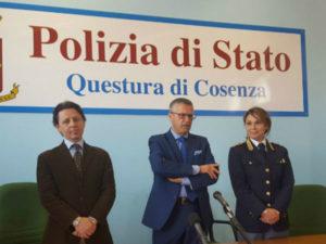 """Polizia: questore Cosenza, """"serve sintonia tra forze ordine"""""""