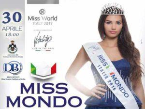 Concorsi: torma Miss Mondo Italia Calabria e Sicilia