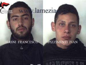 Furti: due giovani arrestati dai carabinieri a Reggio Calabria