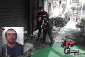 Incendia saracinesca bar, arresto a Melito Porto Salvo