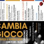 """Lamezia: """"Cambia Gioco"""" nella sala Napolitano del comune lametino"""