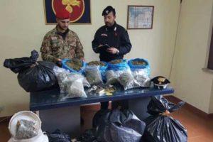 Criminalita': armi e droga sequestrate nel Vibonese, due arresti