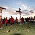 Rievocata a Falerna la Passione di Cristo, diversi momenti toccanti e suggestivi