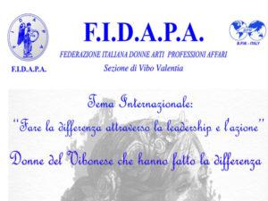 Fidapa: Donne Vibonese che hanno fatto la differenza