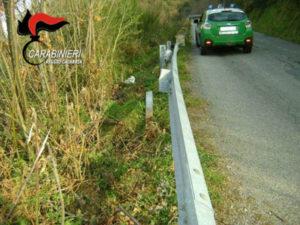 Ladri di guard rail scoperti dai Carabinieri, due denunce