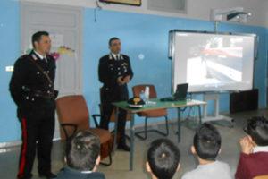 Scuola: Carabinieri Tropea incontrano gli alunni delle medie di Zungri