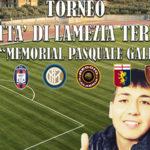 """Lamezia: 3° edizione """"Torneo Nazionale Memorial Pasquale Gallo"""""""