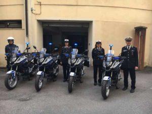 Comune Catanzaro: 4 nuove moto in dotazione a polizia locale