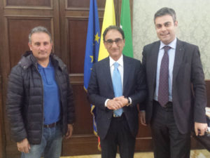 Catanzaro: Abramo e Mungo ricevono nuovo delegato provinciale Coni
