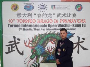 Wushu – kung fu: grande successo Drago di Primavera