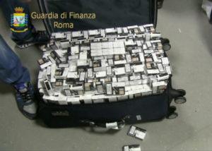 Contrabbando: Gdf Roma,6 arresti e sequestro 5 quintali sigarette