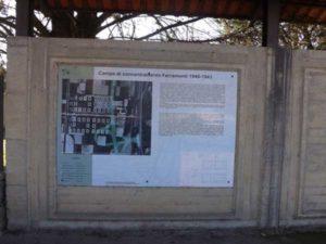 25 aprile: vandali nell'ex campo di concentramento a Tarsia