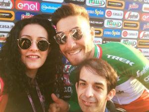 Giro d'Italia: a Castrovillari sarà festa rosa anche per 2 giornalisti calabresi