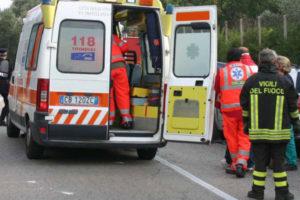 Incidenti stradali: Paola, grave ragazza di 24 anni