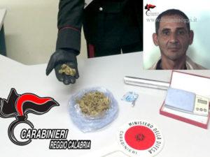 Droga: nascondeva marijuana in casa, un arresto a Reggio