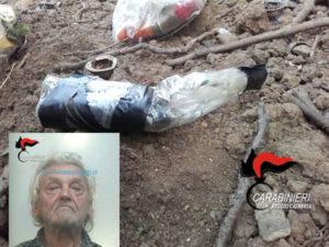 Armi: nascondeva cartucce e polvere da sparo, arrestato 82enne