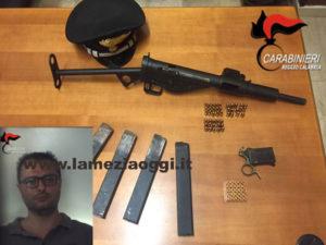 Armi: nascondeva mitragliatrice, arrestato 34enne nel Reggino