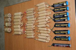 Sicurezza: 45enne denunciato per detenzione abusiva prodotti esplodenti