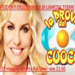 Gastronomia: l'EinaudI di Lamezia Terme ospite di Antonella Clerici