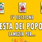 Lamezia: domenica 4 giugno Corso Nicotera  Festa dei Popoli