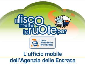 Fisco: il camper dell'Agenzia delle Entrate fa tappa a Cosenza